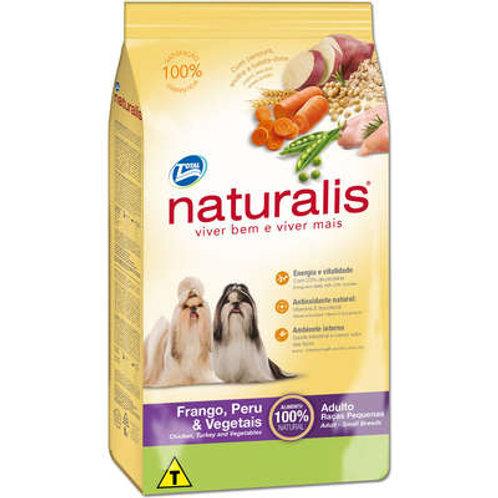 Ração Naturalis para Cães Adultos Raças Pequenas Frango, Peru & Vegetais - 2 Kg