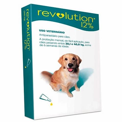 Antipulgas Revolution 12% 240mg Cães 20,1 a 40kg