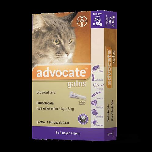 Antipulgas Advocate Gatos entre 4 e 8kg