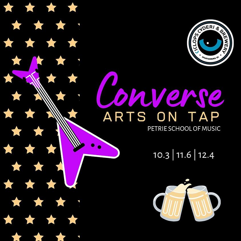 Converse Arts on Tap