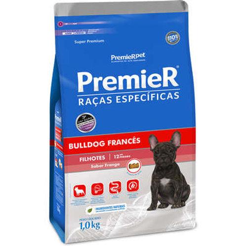 Ração Seca Premier Raças Específicas Bulldog Francês para Cães Filhotes