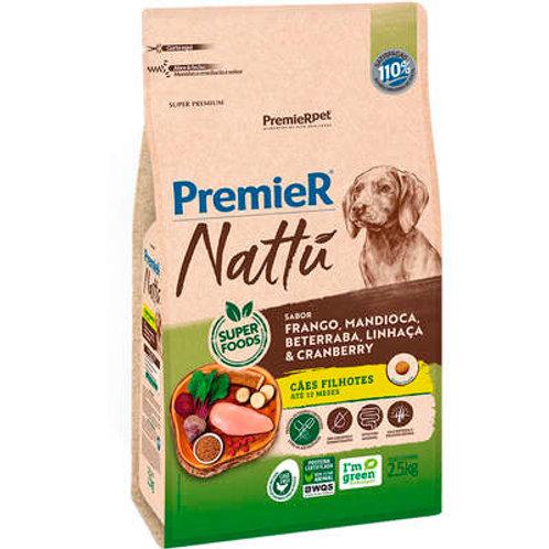 Ração Premier Nattu para Cães Filhotes Sabor Mandioca