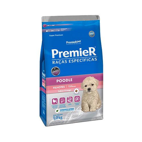 Ração Premier Raças Específicas Poodle Filhote Frango – 1,0 KG