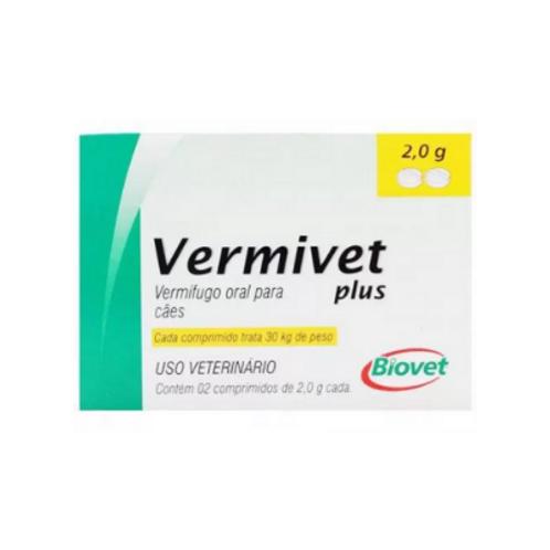 Vermífugo Vermivet Plus 2,0g Biovet