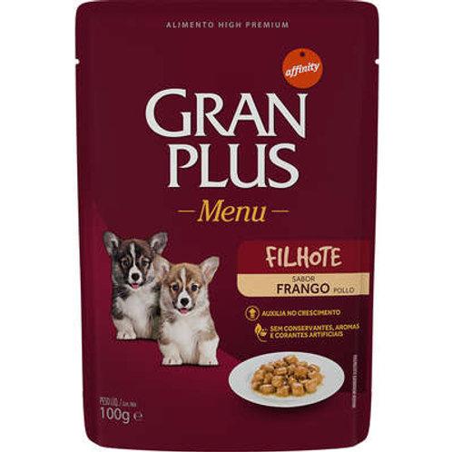 Sachê GRANPLUS para Cães Filhotes Sabor Frango- 100 G