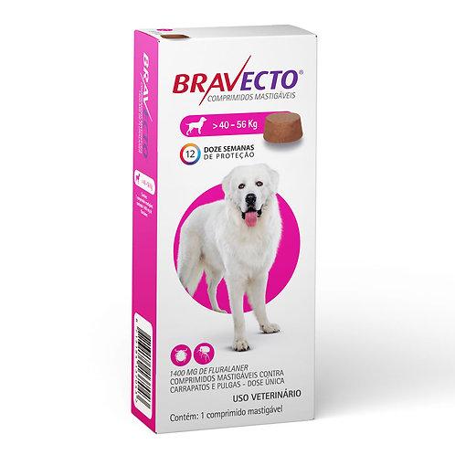 Antipulgas Bravecto Oral 1400mg Cães 40 a 56kg