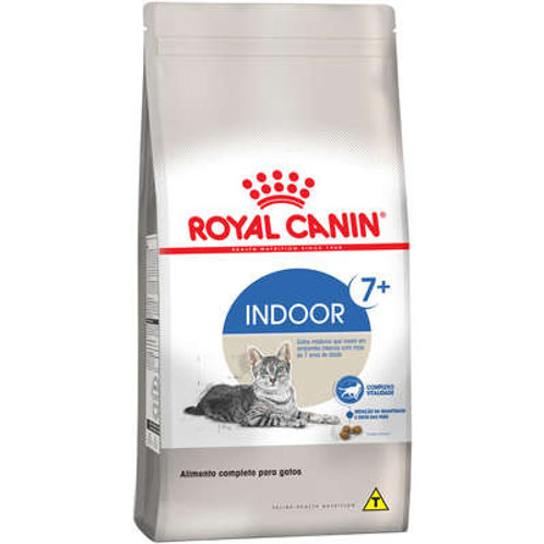 Ração Royal Canin Indoor Acima de 7 Anos - 1.5 Kg