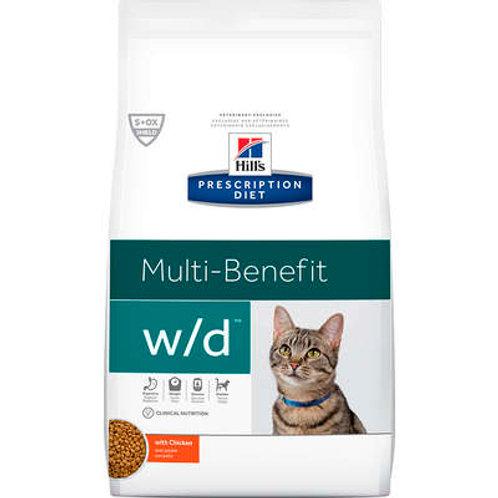 Ração Seca Hill's Prescription Diet w/d Multi Benefit para Gatos Adultos 1,81 Kg