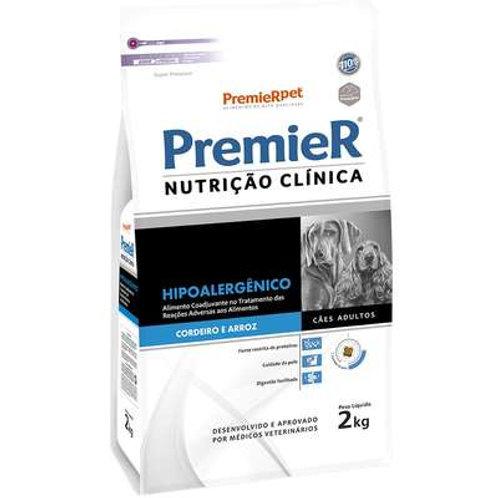 Ração Premier Nutrição Clínica Adulto Hipoalergênico