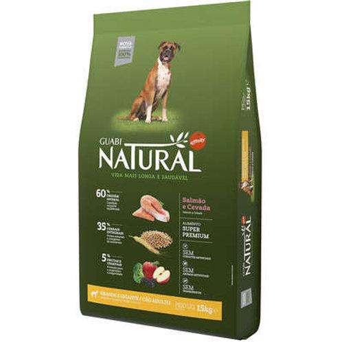 Ração Affinity Guabi Natural Salmão e Cevada para Cães Adultos Raças Grande
