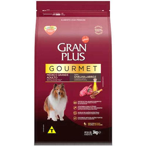 Ração GRANPLUS Gourmet para Cães Adultos Médio e Grande Porte Ovelha & Arroz