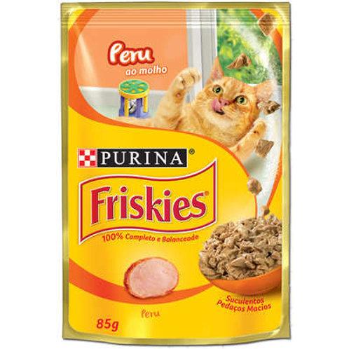 Sachê Purina Friskies Alimento úmido para Gatos Adultos - Peru ao Molho