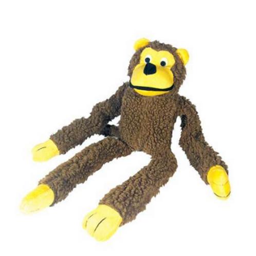 Brinquedo Chalesco Para Cães Macaco de Pelúcia