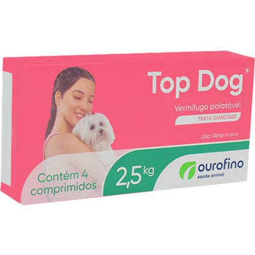 Vermífugo Top Dog Cães 2,5kg Ourofino