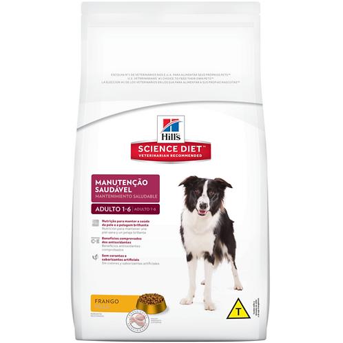 Ração Seca Hill's Science Diet Manutenção Saudável para Cães Adultos