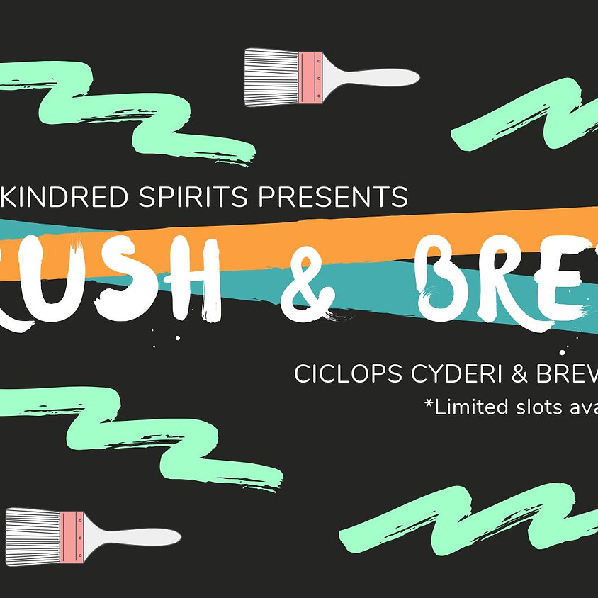 Brush & Brew with The Kindred Spirits