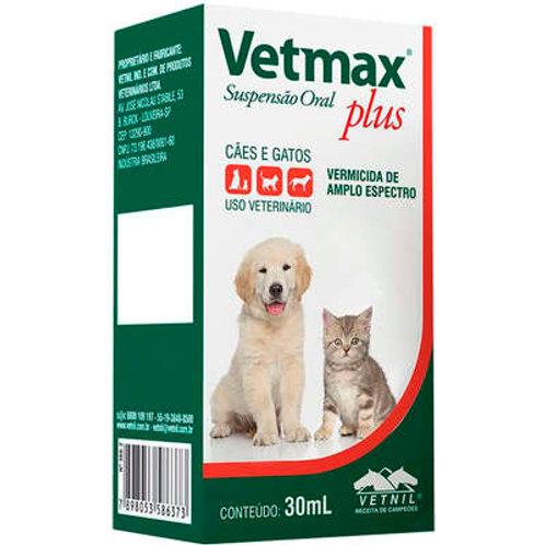 Vermífugo Vetmax Plus Vetnil 30 ml