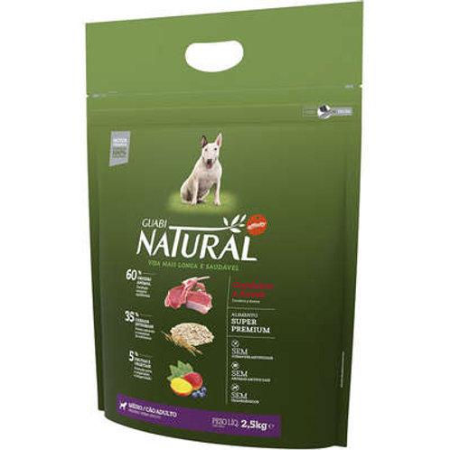 Ração Affinity Guabi Natural Cordeiro e Aveia para Cães Adultos Raças Média