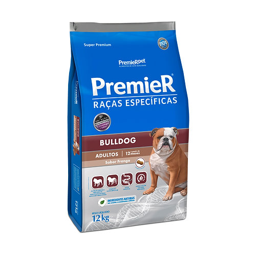 Ração Premier Pet Raças Específicas Bulldog Adulto