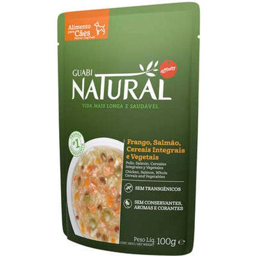 Ração Úmida Guabi Natural Frango, Salmão, Cereias e Vegetais para Cães Adultos