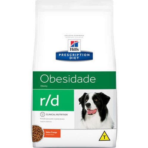Ração Hill's Prescriptions Diet r/d Redução de Peso para Cães Adultos Obeso