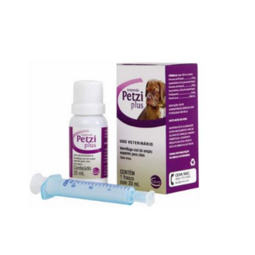 Vermífugo Petzi Plus Suspensão Ceva 20ml