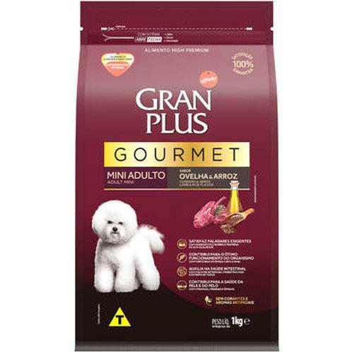 Ração GRANPLUS Gourmet para Cães Adultos MINI Sabor Ovelha & Arroz