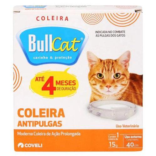 Coleira Antipulgas Bullcat Coveli 15g