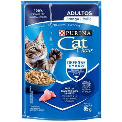 Sachê Purina Cat Chow Gatos Adultos - Frango ao Molho