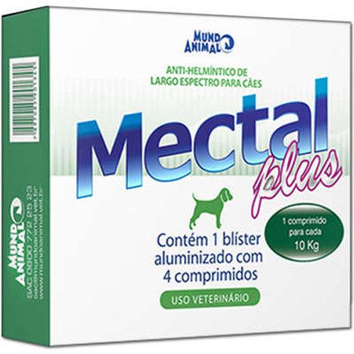 Mectal Cães 10kg Mundo Animal