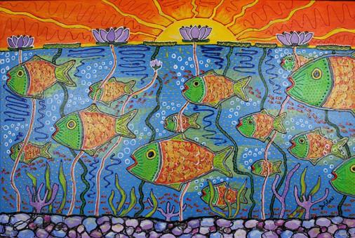FISH BOWL- SOLD