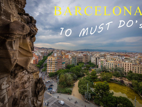 10 must do things in Barcelona