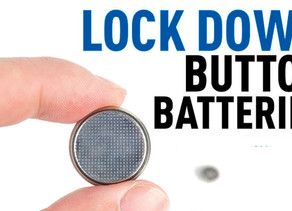 Button Battery Safety Tip