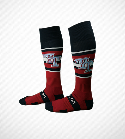 Top Tier Gamers Socks RED, WHITE, and BLUE