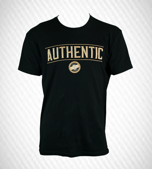 TRAIN MORE PLAY LESS AUTHENTIC T-SHIRT
