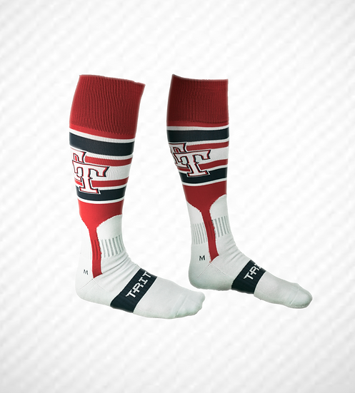 "Top Tier AMERICANS Game SOCK ""RED"""