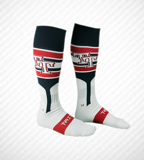 "Top Tier AMERICANS Game Socks ""Navy"""