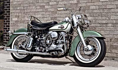 Harley-Davidson Panhead Hydra Glide
