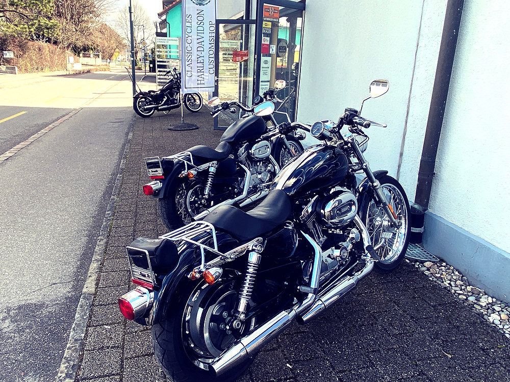 Harley Davidson Sportster, 1200, Klappenauspuff, BSL, Classic Cycles