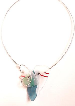 Multi Colored Glass Necklace