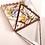 Thumbnail: Variegated  Glass Pyramid Box