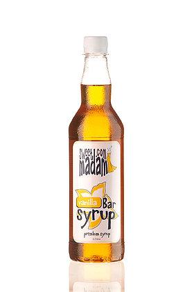 Барний сироп Ваніль ПЕТ пляшка 700 мл.