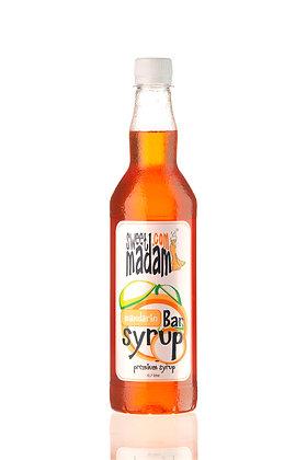 Барний сироп Мандарин ПЕТ пляшка 700 мл.