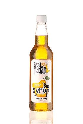 Барный сироп Груша ПЭТ бутылка 700 мл.