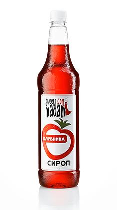 Сироп Полуниця 1л.