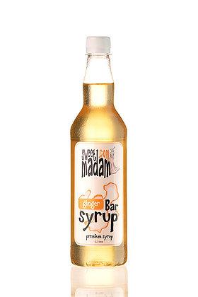 Барний сироп Імбир ПЕТ пляшка 700 мл.