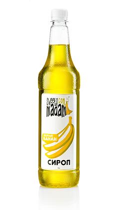 Сироп Жовтий банан 1л.