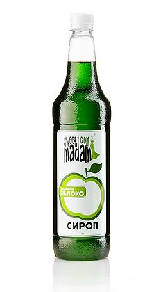 Сироп Зелене яблоко 1л.