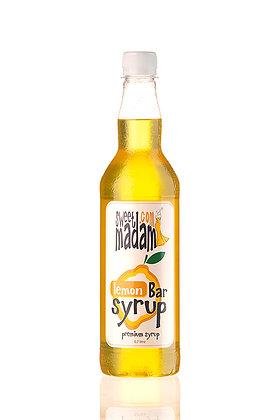 Барный сироп Лимон ПЭТ бутылка 700 мл.