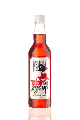 Барный сироп Роза ПЭТ бутылка 700 мл.